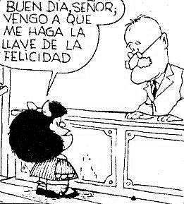 llave felicidad mafalda