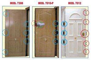 Consejos de puertas acorazadas.