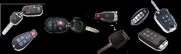 Duplicamos llaves de coche con mando y sin mando con transponder o chip